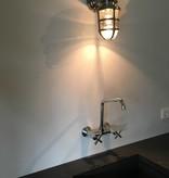 Industriële verlichting Buitenlamp Brooklyn Antiek Dark Brass