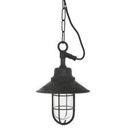 Industriële verlichting Buiten hanglamp Ventura Antiek Mat Zwart