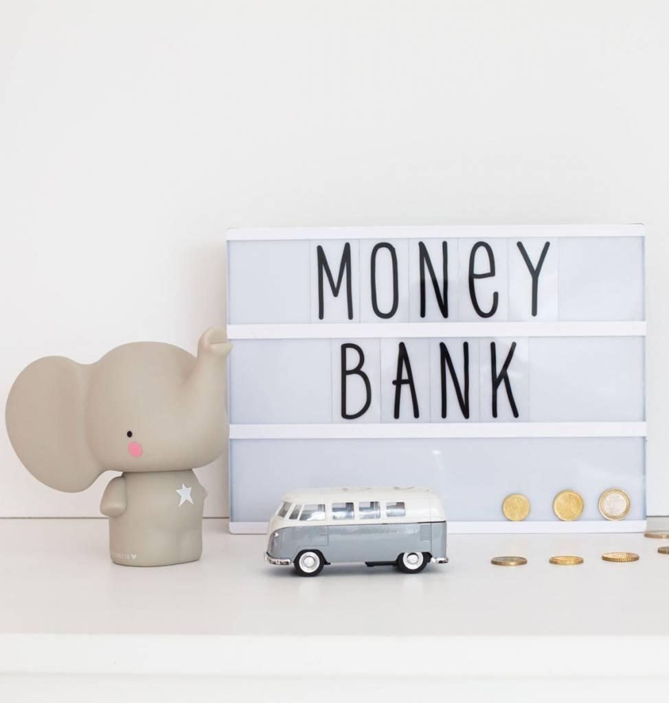 a Little Lovely Company A Little Lovely Company Spaarpot / Moneybox - Olifant