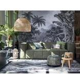 Hk Living HK Living - Vloerkleed Boucherouite zwart wit 180 x 280 cm