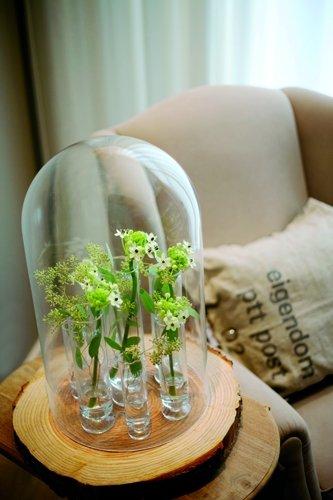 Dutz bloemenvaasje op voet - 3 maten