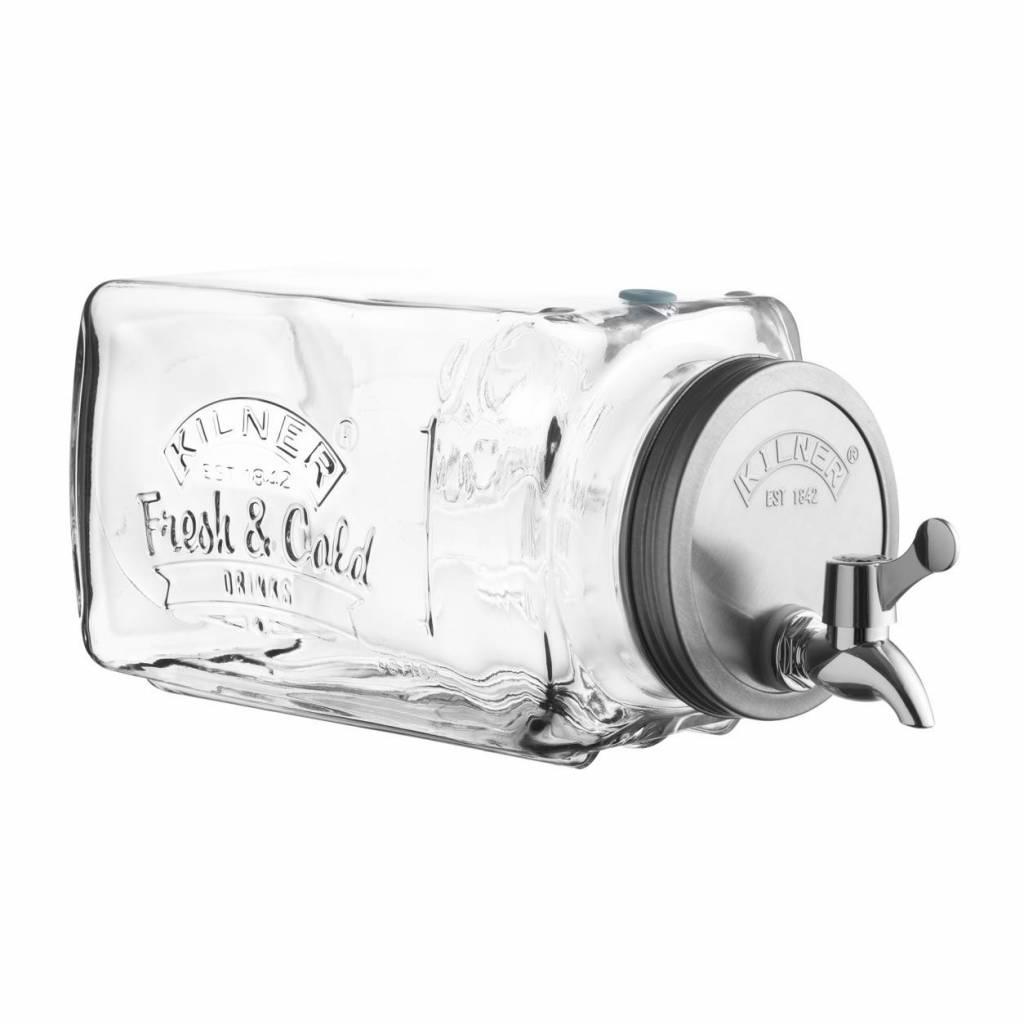Kilner Kilner watertap drankendispenser - 3 Liter