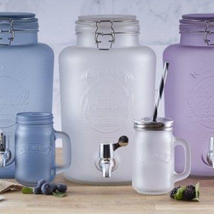 Kilner Kilner Frosted watertap drankendispenser - 5 Liter