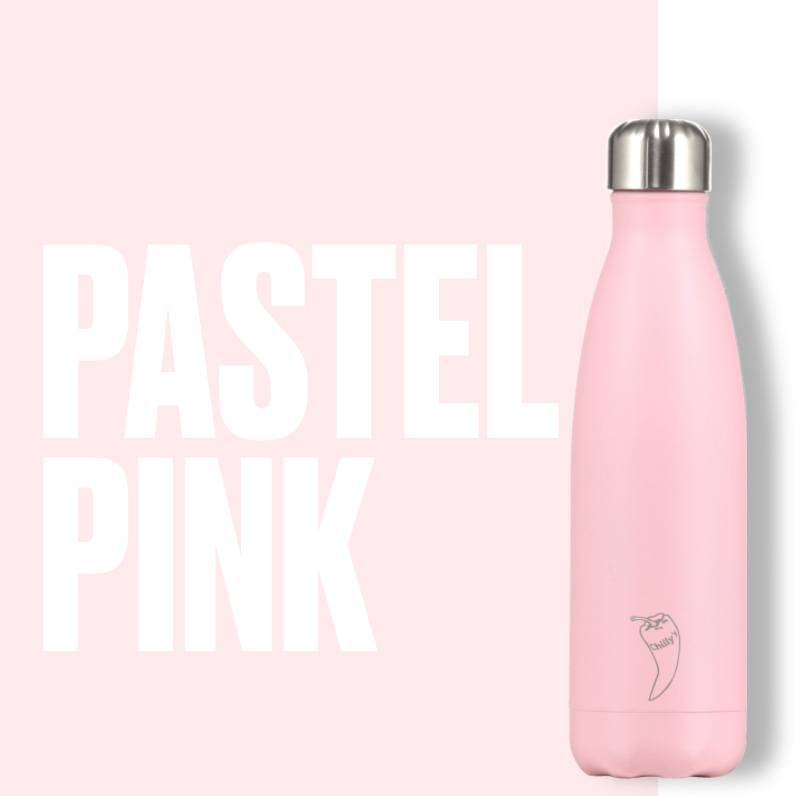 Chilly Bottle's Chilly Bottle - pastel pink - thermosfles 500 ml