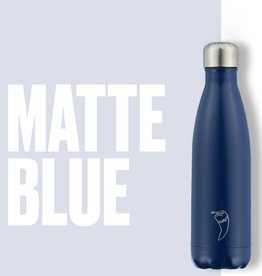 Chilly Bottle's Chilly Bottle - matt blauw