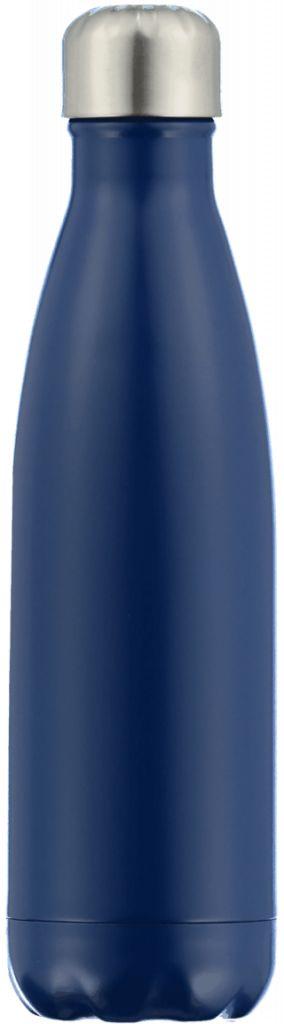 Chilly Bottle's Chilly Bottle - matt blauw- thermosfles 500 ml