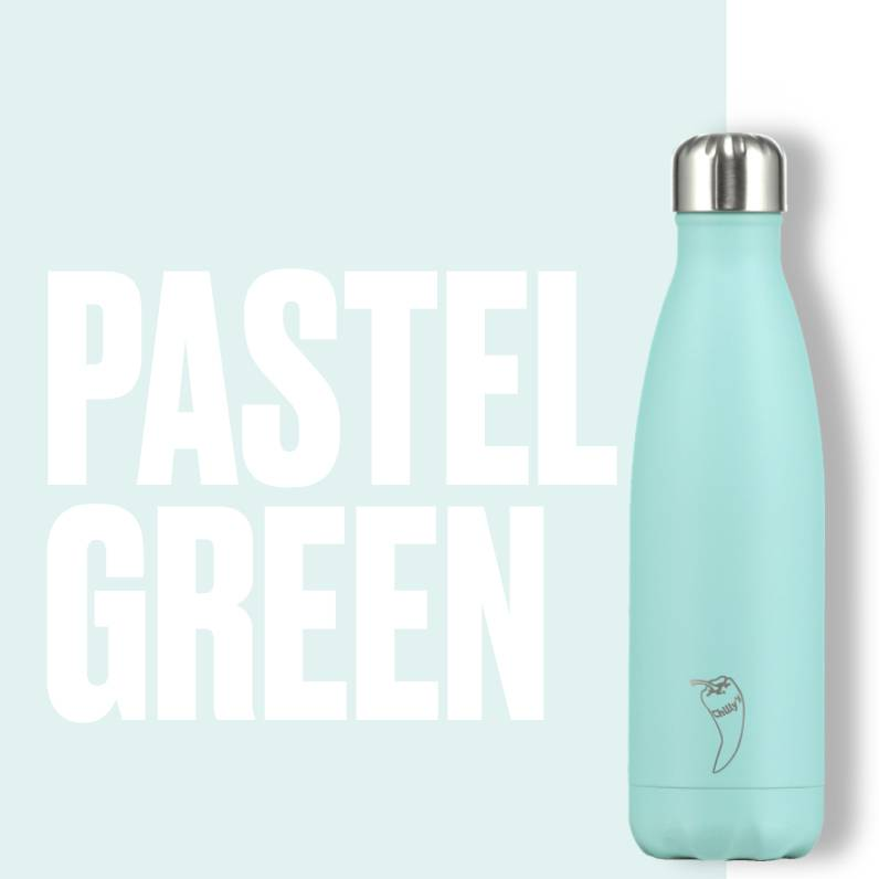 Chilly Bottle's Chilly Bottle - pastel-green mint - thermosfles 500 ml