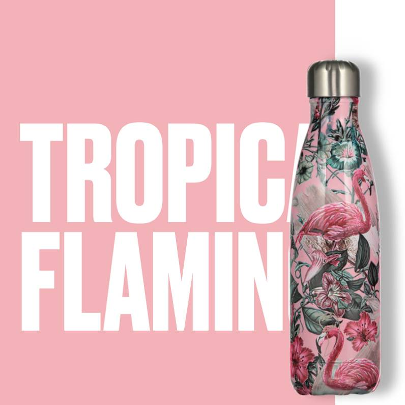 Chilly Bottle's Chilly Bottle - Flamingo - thermosfles