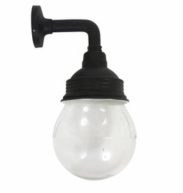 Industriële verlichting Buitenlamp Vasco Antiek Mat Zwart