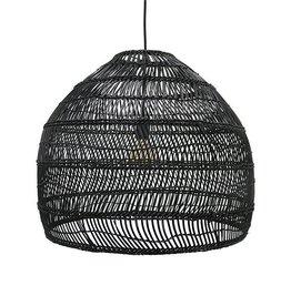 Hk Living HK Living Rieten Hanglamp Zwart 60 cm