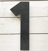 La Pierre Stones Natuursteen huisnummer cijfer 1 - XL huisnummer