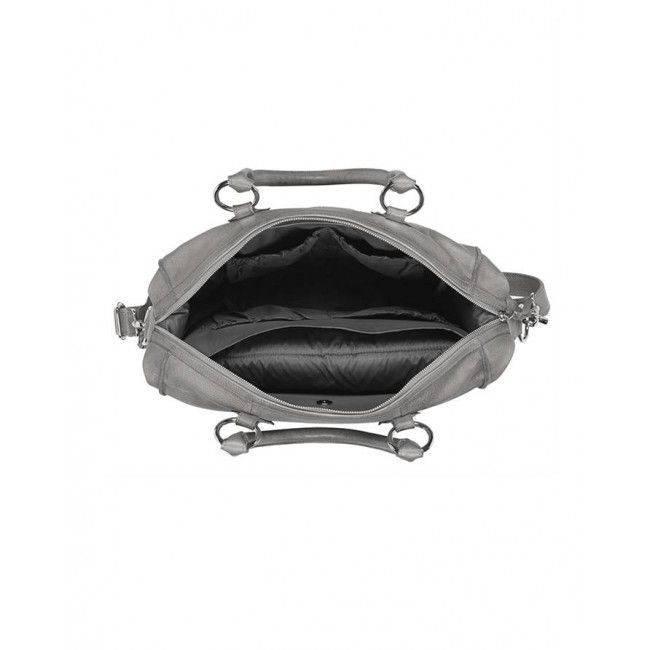 Koeka Koeka luier-/verzorgingstas Sorrento Leer - Steel grey