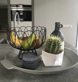 Present Time Present Time fruit bowl wired Zilver
