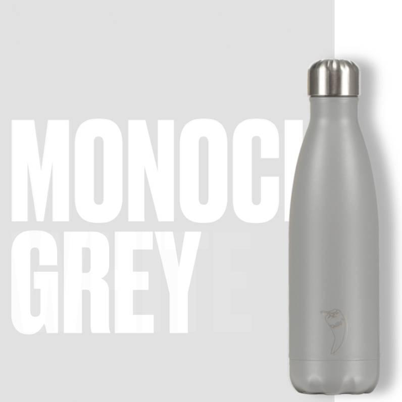 Chilly Bottle's Chilly Bottle - matt grijs - thermosfles 500 ml