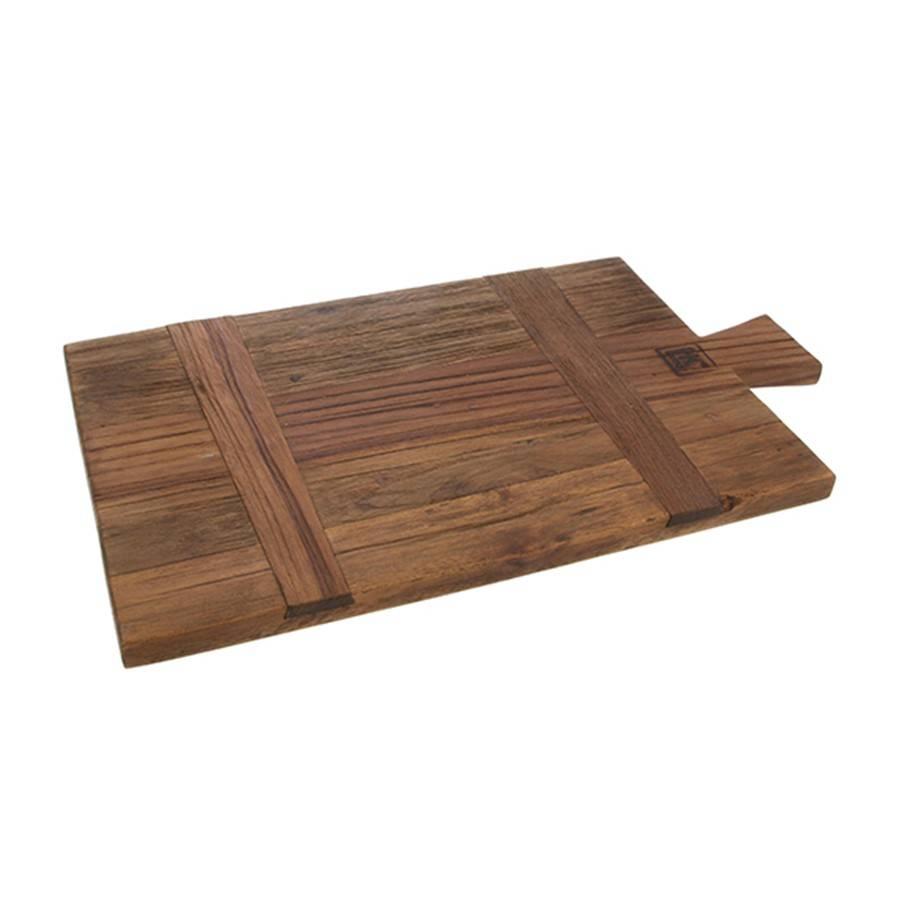 HKliving HK Living Kaasplank / Broodplank gerecycled teak hout Maat S
