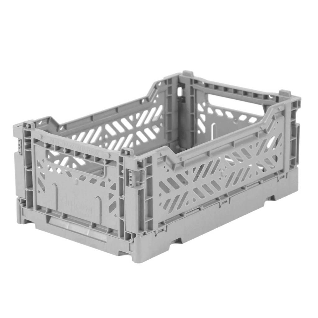 Eef Lillemore AyKasa Ay-Kasa Folding Crate Mini - Grey