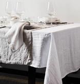Puur Basic Home selection wit linnen tafelkleed linnen Himla ash Grijs
