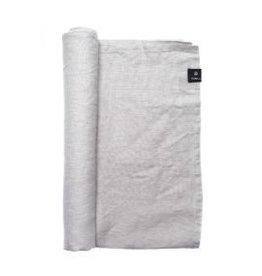 Puur Basic Home selection Tafelkleed en loper linnen ash Grijs