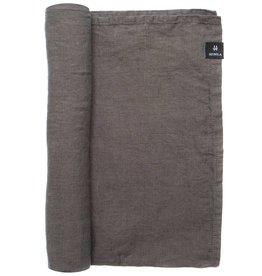Puur Basic Home selection Tafelkleed en loper linnen Donkergrijs