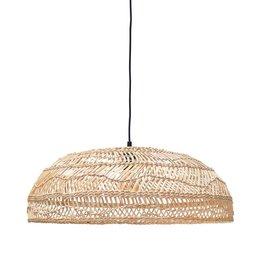 Hk Living HK Living hanglamp gevlochten riet naturel