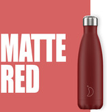 Chilly Bottle's Chilly Bottle Rood - Matte Red - thermosfles Chilly Rood