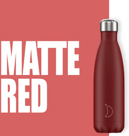 Chilly Bottle's Chilly Bottle Rood - Matte Red