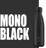 Chilly Bottle's Chilly Bottle Zwart - Matte Black - thermosfles Chilly Zwart