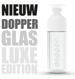 Dopper Dopper glazen thermosfles - Special Glass Dopper 450 ml