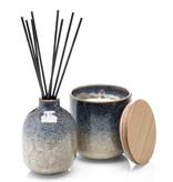 Luxe ceramic geurstokjes geur: Bergamot, lelie en vetiver