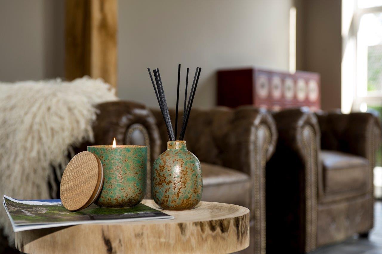 Luxe ceramic geurstokjes geur: Groene thee en jasmijn
