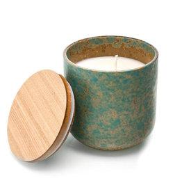 Luxe geurkaars Groene thee en jasmijn