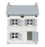 Little Dutch Wit houten poppenhuis - Little Dutch