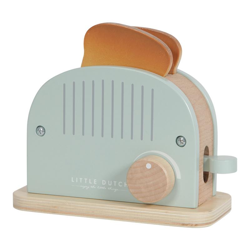 Little Dutch Little Dutch houten broodrooster Pastel kleuren