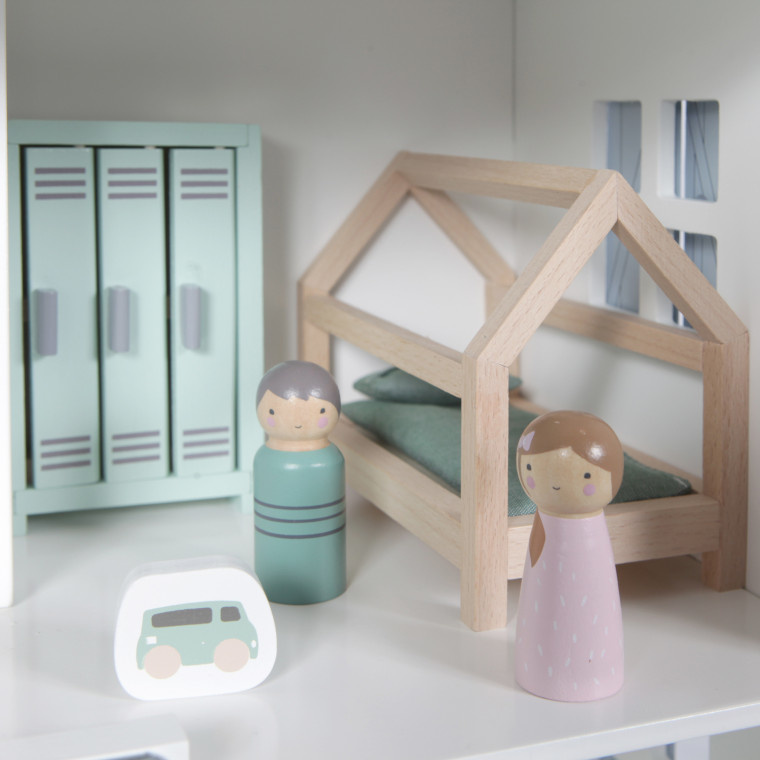Little Dutch Little Dutch Poppenhuis speelset Kinderkamer