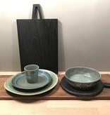 HKliving HK Living pastabord moss groen - HK Living pasta bowl moss green  ACE6765