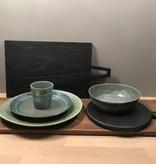 Hk Living HK Living pastabord moss groen - HK Living pasta bowl moss green  ACE6765