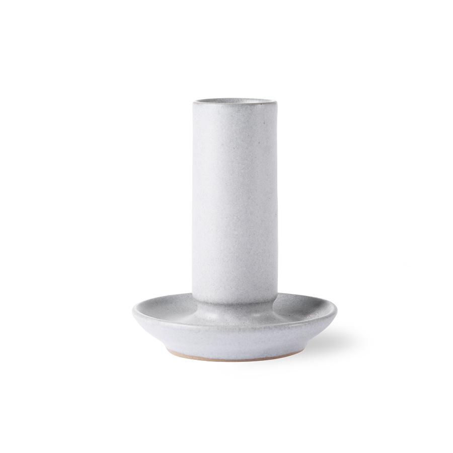 HKliving HK Living ceramic candle holder grey M - AKA3345