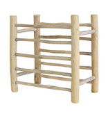 HKliving HK Living Mango houten borden rek