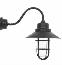 Industriële verlichting Buitenlamp Vermont Antiek Mat Zwart