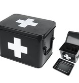 Present Time Present Time Opbergdoos medicijnen Zwart - Present Time medicine storage box- PT2950M