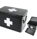 Present Time Present Time Opbergdoos medicijnen Zwart - Present Time medicine storage box- PT2950L