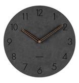 Present Time Karlsson wandklok Dura zwart Present Time klok zwart