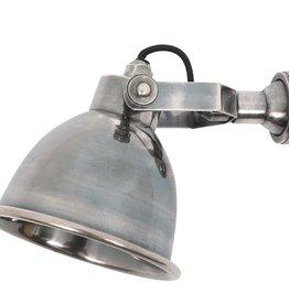 Industriële verlichting Wandlamp / Spotje Maxim Antiek Zilver