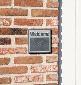 La Pierre Stones Natuursteen deurbeldrukker Welcome 2