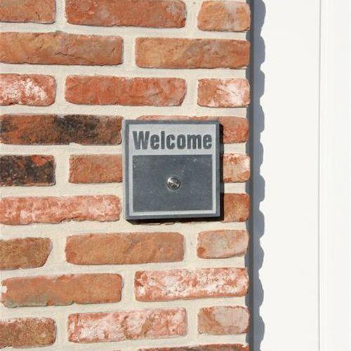 La Pierre Stones Natuursteen deurbeldrukker Welkom 2