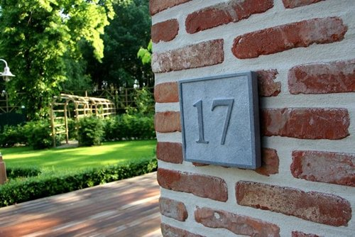 La Pierre Stones Natuursteen huisnummerbordje Square 1