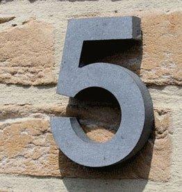 La Pierre Stones Natuursteen huisnummer contour cijfer 0 t/m 9 - 20 cm