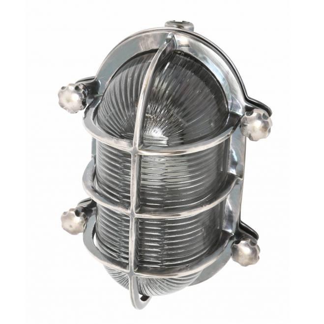 Industriële verlichting Buitenlamp Dundee Antiek Zilver