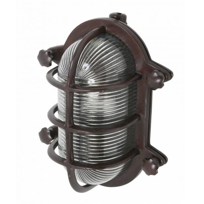 Industriële verlichting Buitenlamp Dundee Dark Brass