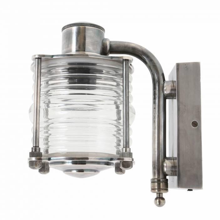 Industriële verlichting Buitenlamp Torbay Antiek Zilver